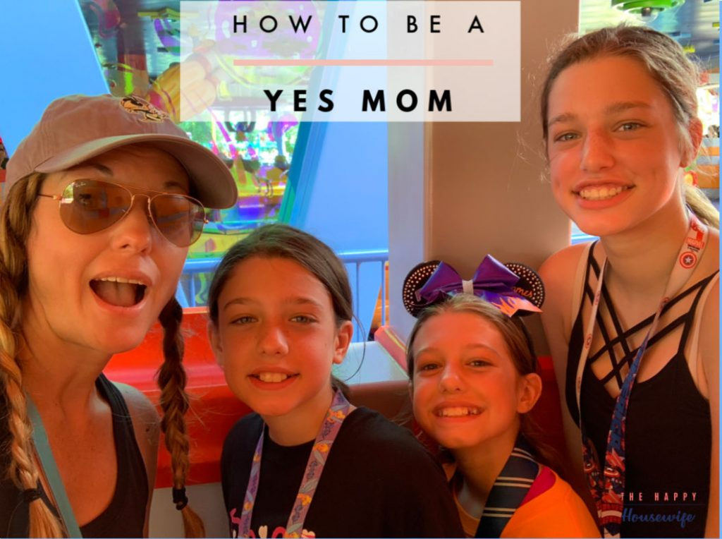 How to be a yes mom