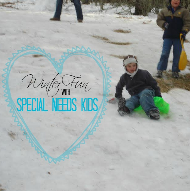 Winter Fun with Special Needs Kids at The Happy Housewife