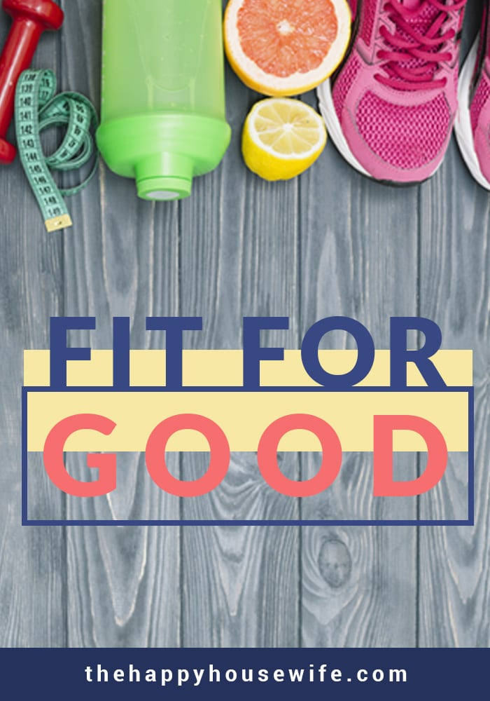 This series is about how I decided to make my health a priority and get fit for good. I hope to help you work fitness into your life, too so you can be fit for good with me.