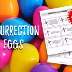 Resurrection Eggs with printable bible verses