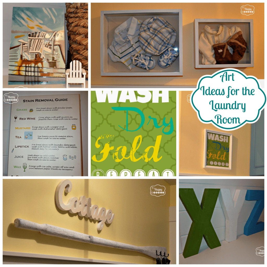 Decorating Some Diy Art For The Laundry Room The Happy Housie