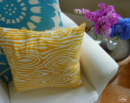 Ten-Minute Envelope Pillow Cover