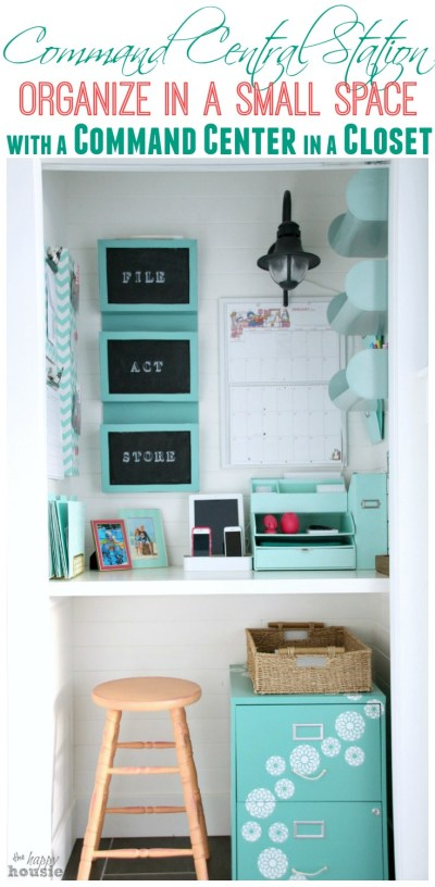 http://thehappyhousie.porch.com/command-central-station-getting-organized-with-a-command-center-in-a-closet/