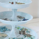 Diy Tiered Jewelry Tray From Dollar Store Finds The Happy Housie