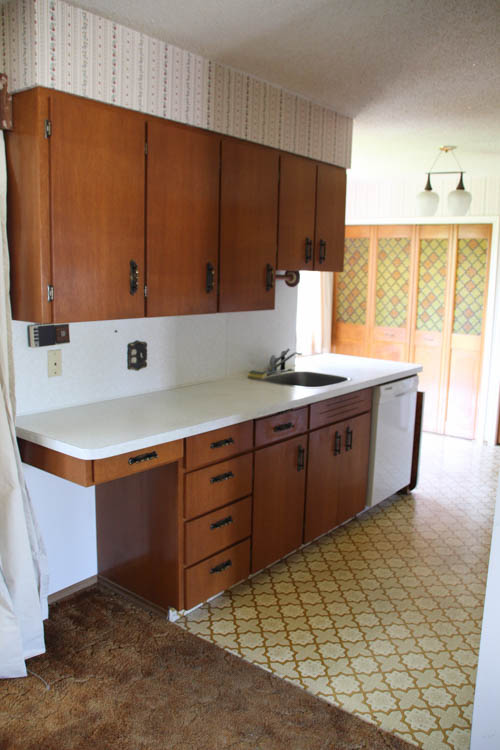 how to install new countertops on old