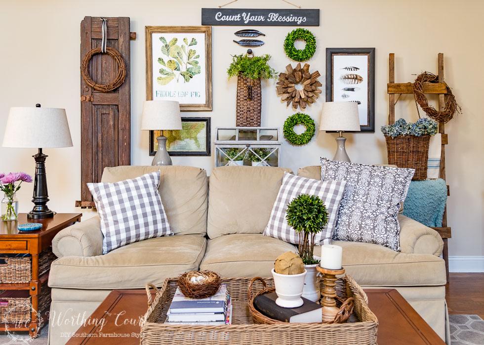 10 Fanastic Farmhouse Style Decor & DIY Ideas {Work It ...