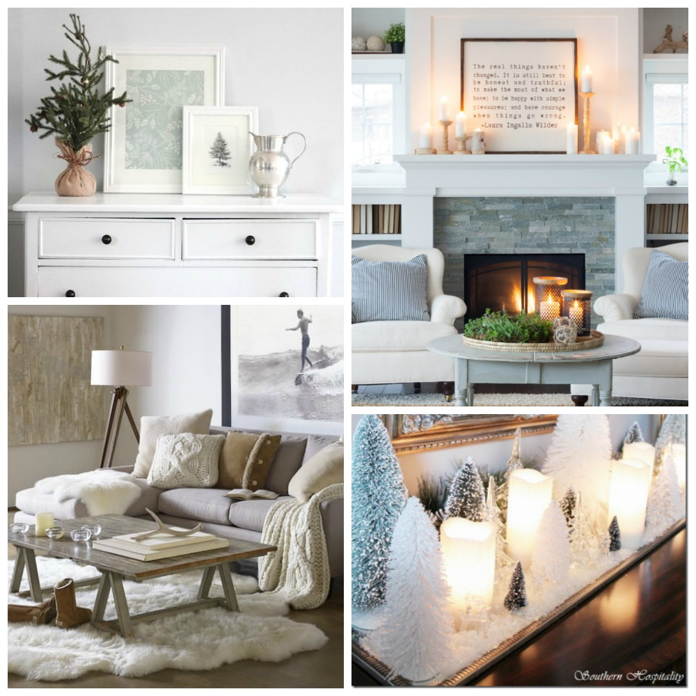 Clean Cozy Neutral Winter Decorating Ideas   The Happy Housie clean cozy neutral winter decor ideas