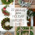 22 Fabulously Festive Diy Holiday Wreath Ideas The Happy Housie