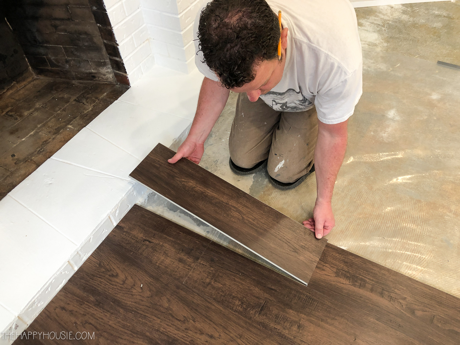 to install vinyl plank over concrete