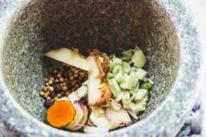 Making Homemade Thai Curry