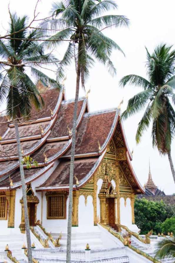Haw Pha Bang temple, National Museum, Luang Prabang, Lao