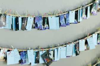Love cards, Seoul, Korea