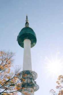 Seoul Sehenswürdigkeiten n seoul tower korea