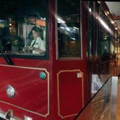 Peak tram in Hongkong
