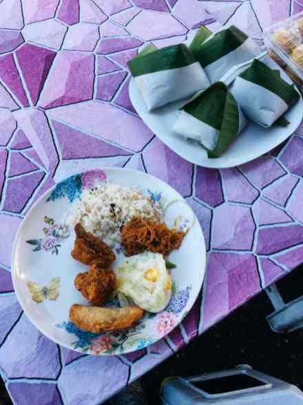 Cameron Highlands Tanah Rata Street Food Nasi Lemak