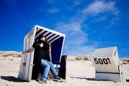 Sylt Strandkorb Strand Rantum
