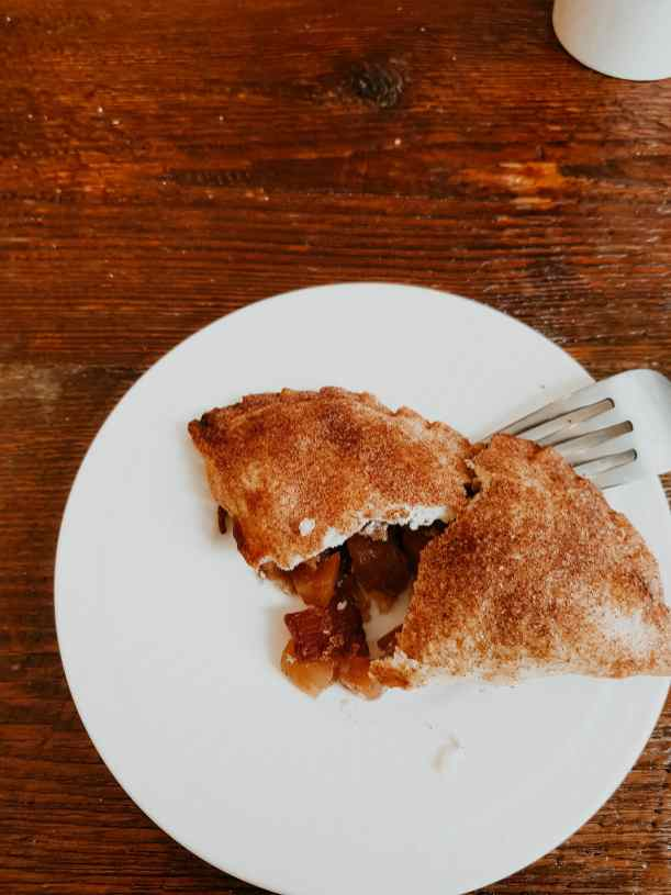 Springfield Illinois Café Apfel Bacon Teigtasche