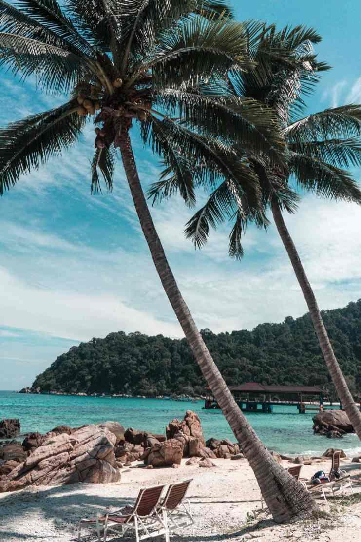 Perhentian Islands Malaysia Traumstrände Perhentian Besar