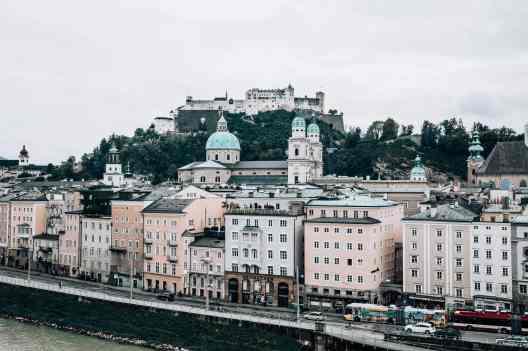 Ausblick auf Festung Hohensalzburg