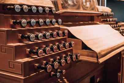 Orgel im Dom zu Salzburg