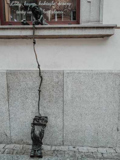 Breslau Sehenswürdigkeiten Breslauer Zwerg unter Fenster