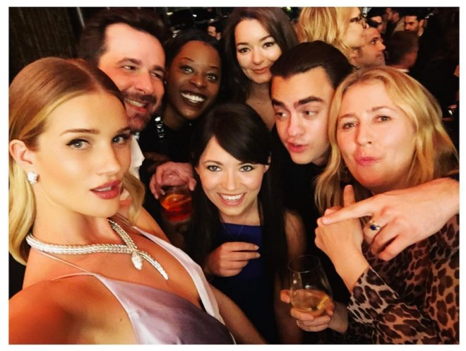 Bulgari Party - repost from instagram @rosiehw