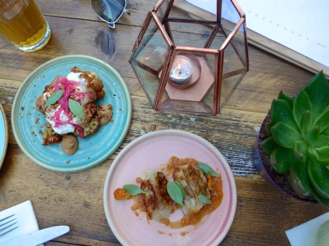 Chicama London Burrata and Gyoza