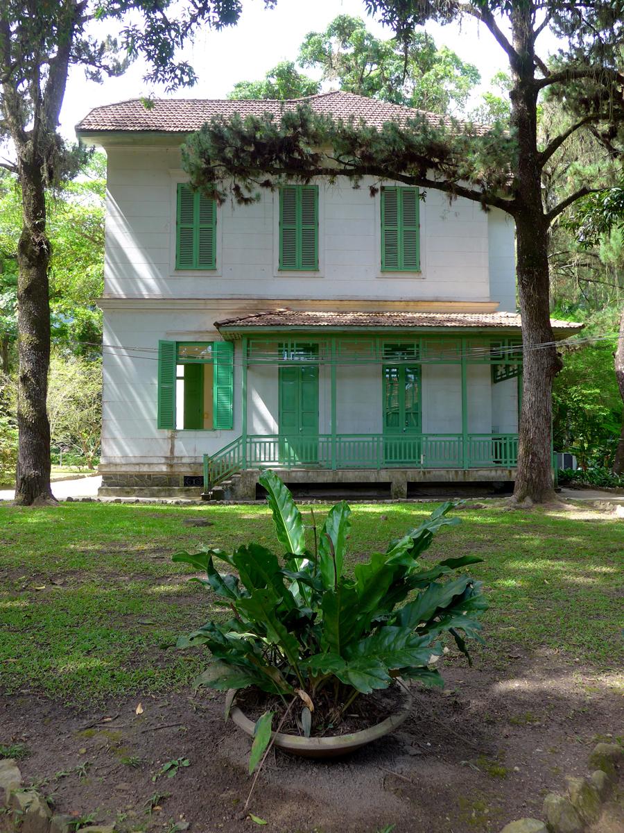 Botanical Garden Rio De Janeiro   Jardim Botanico Do RIo De Janeiro    Grounds