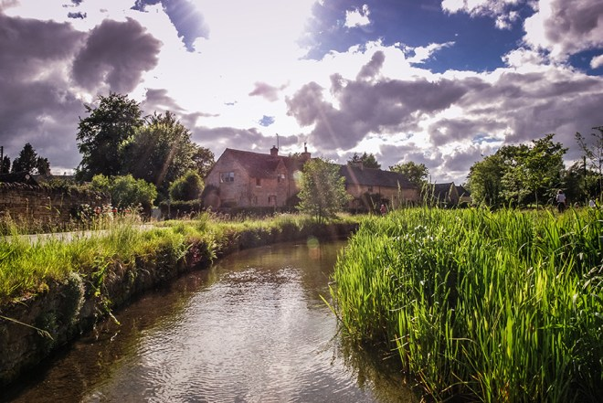 Cotswolds - Lower Slaughter River Eye