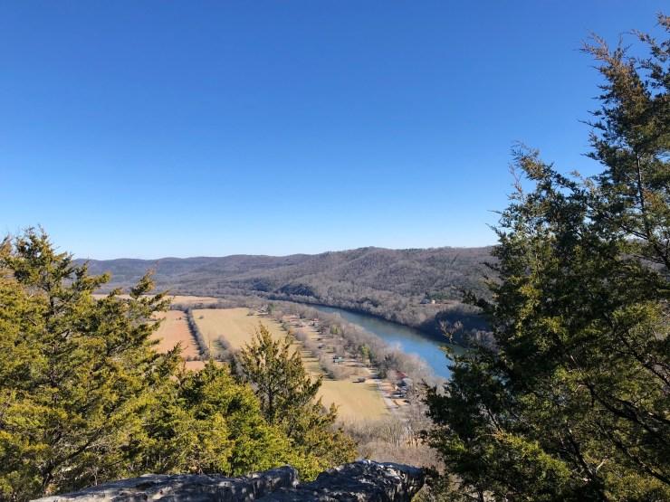 Hiking Arkansas in Midlife - White River Bluff Loop