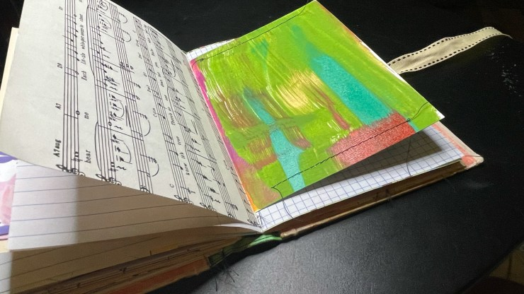 travel journal handmade book