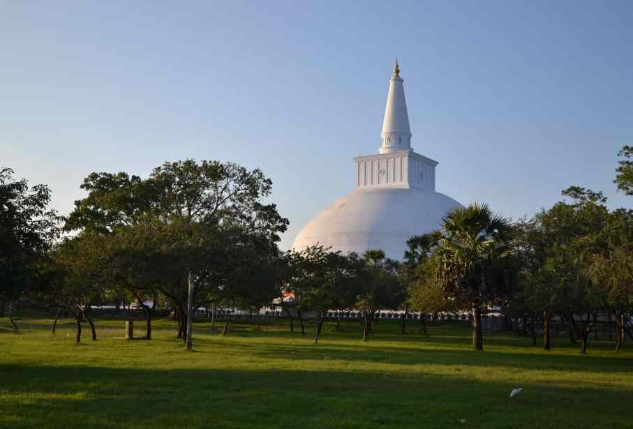stupa in sri lanka
