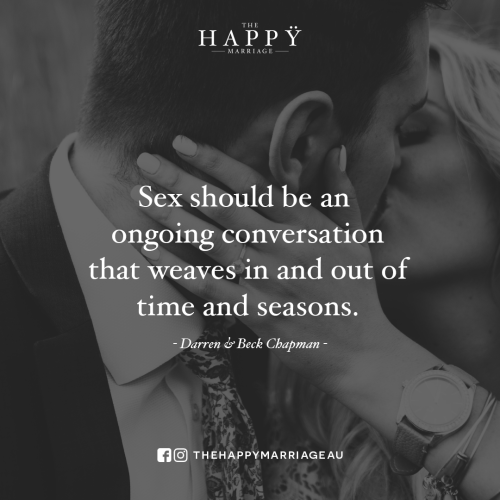 sex should be an ongoing conversation