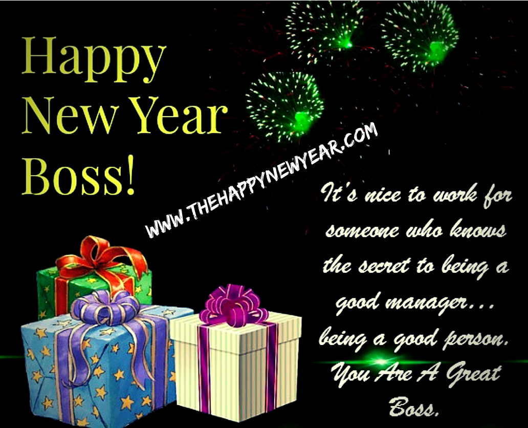 Happy New Year 2021 Wishes for Boss - Greetings Messages for Boss
