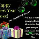 Happy New Year 2021 Wishes for Boss