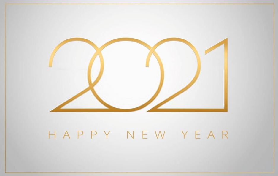 free Happy New Year wallpaper 2021
