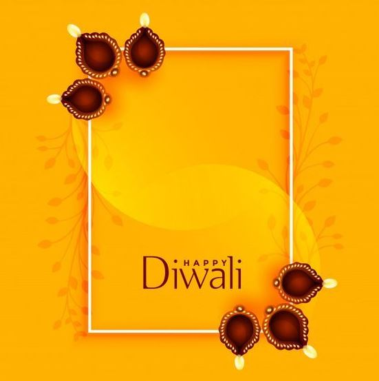 Happy Diwali Greetings Image 2020