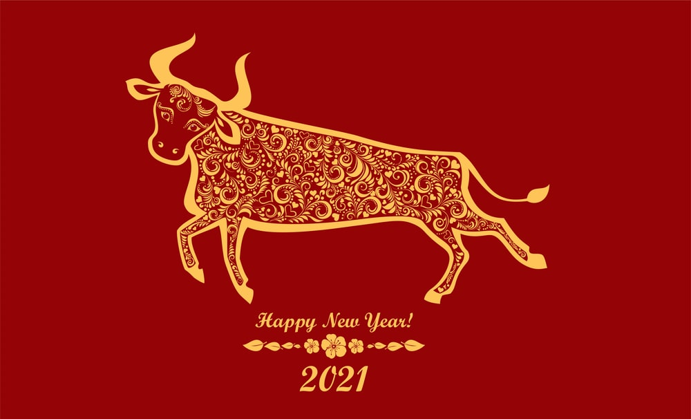 year of the ox 2021 images