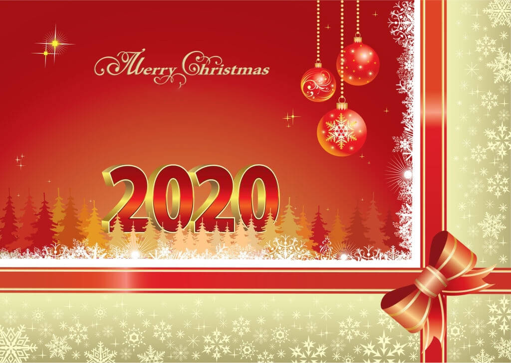 happy merry christmas 2020 images