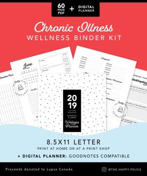 Printable Chronic Illness Binder Kit