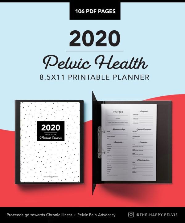 2020 Medical Binder Printable Planner