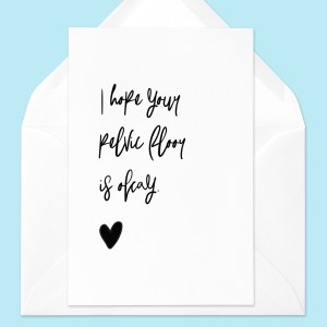 pelvic floor greeting card