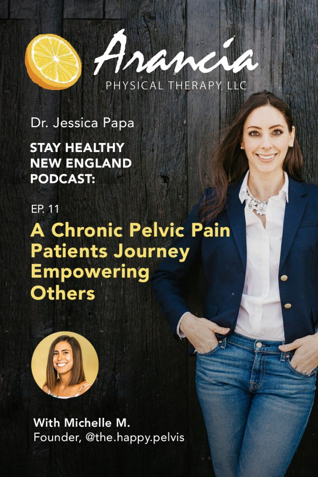 Stay Healthy Podcast - Michelle's Pelvic Pain Journey