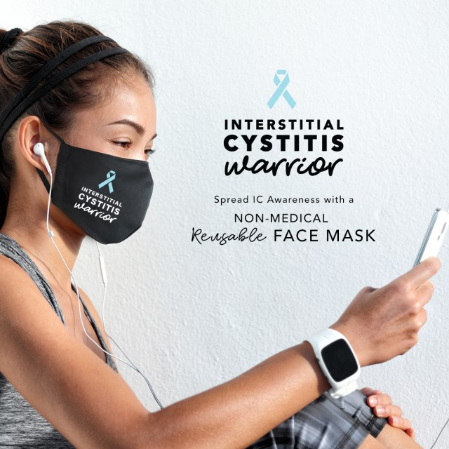 Interstitial Cystitis Face Mask