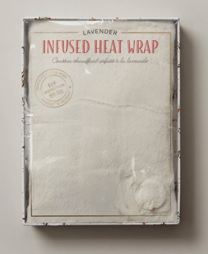 Lavender Heat Wrap - A Holiday Gift Guide for those living with Chronic Illness and Pelvic Pain