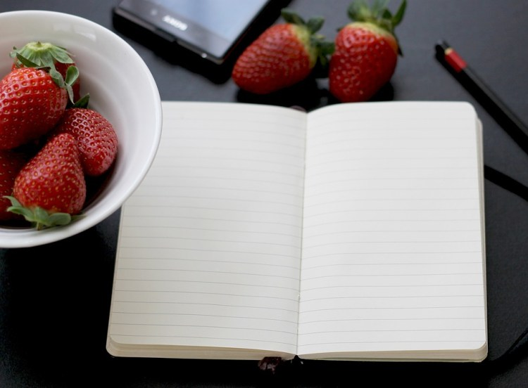 https://pixabay.com/en/notebook-memo-note-food-moleskine-254335/