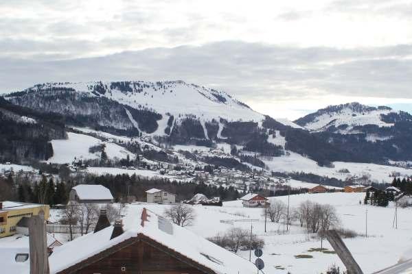 Snow men, sledding and ski de fond