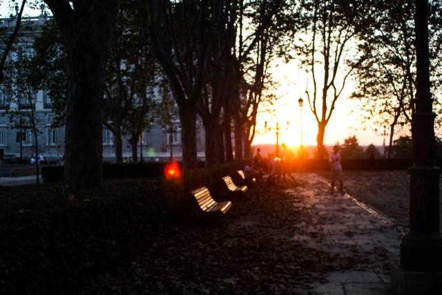 autumn in Madrid