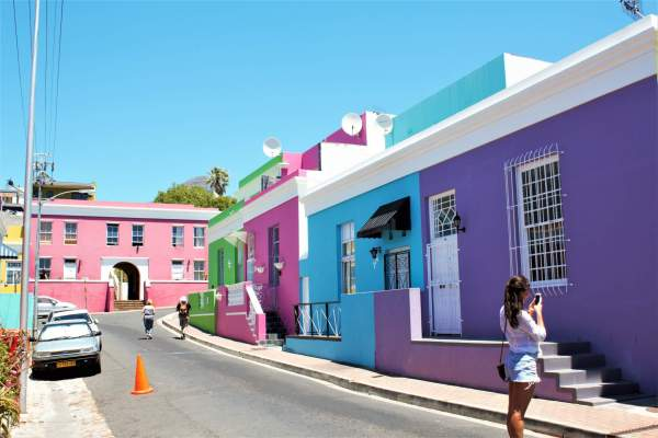 The Colourful Bo-Kaap, Cape Town