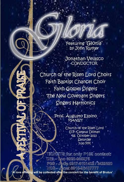 Gloria - A Festival of Praise